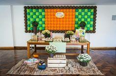Festa_Infantil_Tres_Porquinhos_01 Diy, Home Decor, Three Little Pigs, 2 Year Anniversary, Colorful Decor, Ideas Aniversario, Kids Part, Creativity, Do It Yourself