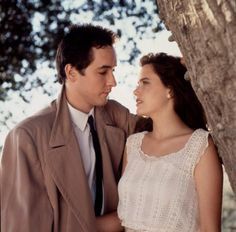 John Cusack and Ione Skye (Say Anything)