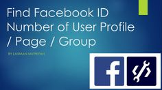 Facebook ID number of an user profile or group or page is required in many cases like verifying you as an admin (fb:admins), social plugins, to raise queries to an app or a game etc. We have developed a FB ID number finder tool to get your Facebook ID easily in fraction of seconds. Find Facebook, Fractions, User Profile, Cases, How To Get, App, Number, Group, Apps