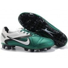 Bset Nike CTR360 Elite II FG Soccer Shoes In White Green Black Cheap Soccer b7d3412cd402