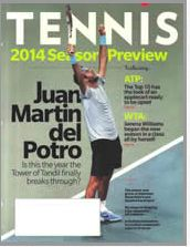 FREE One Year Subscription to Tennis Magazine