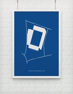 EVERTON (Goodison Park) print