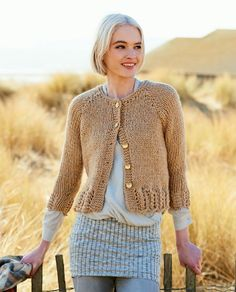 Sweater and Cardigan (super chunky)