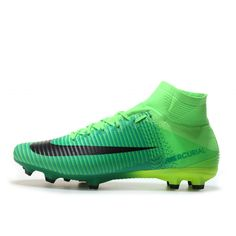 huge selection of a994e 05964 Billig 2017 Nike Mercurial Superfly V FG Online Grön Fotbollsskor. Elmont  Youth Soccer