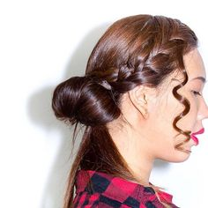 We love some wispy movement in 's updo. Terry Richardson, Updos, Salons, Braids, Editorial, Hairstyle, Makeup, Photography, Beauty
