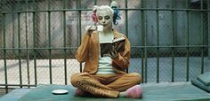 .Harley Quinn played by Margot Robbie in the Suicide Squad movie 2016