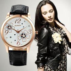 $2.69 (Buy here: https://alitems.com/g/1e8d114494ebda23ff8b16525dc3e8/?i=5&ulp=https%3A%2F%2Fwww.aliexpress.com%2Fitem%2FWatch-women-Relogio-feminino-reloj-mujer-2014-new-fashion-leather-quartz-watch-women-luxury-brand-casual%2F32246378401.html ) WoMaGe Elegant Flowers Luxury Crystal Wrist watches For Women Watches Fashion Ladies Watch Clock Lady Hour Gift relogio feminino for just $2.69