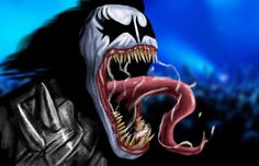 venom gene simmons by heroforpain-d8ms29l