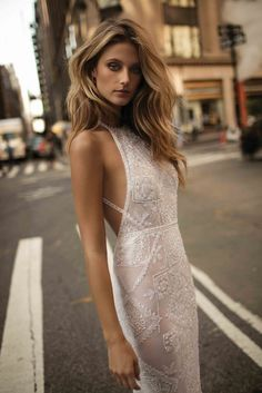 New BERTA FW 2017 bridal collection Ad Campaign featuring top model Kate Bock. Coming soon.
