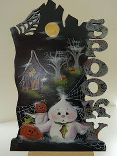decorative painting Halloween - Jamie Mills Price