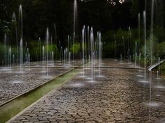 "landscape-a-design: "" Project: water feature in the gardens Location: Terrsasson, France Designer: Kathryn Gustafson """