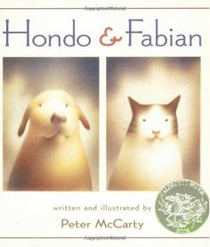 Caldecot  Hondo and Fabian is a tale of a simple friendship between a cat and dog. This book describes the two different set still similair lives of these two animals. In the end, they are very much a like and very much loved. This is a great book for young children. It helps to illustrate how you can be just like someone who looks so different from you.