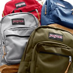 Accept No Imitations #JanSport - right pack will you choose green to remind you of forks?