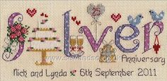 Shop online for Silver Anniversary Chart at sewandso.co.uk. Browse our great range of cross stitch and needlecraft products, in stock, with great prices and fast delivery.