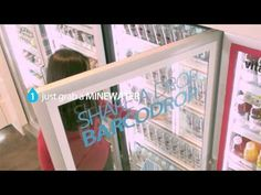 Donating 2-Barcode Water - Minewater Barcodrop Campaign Film - YouTube