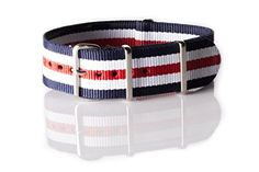 Watch bands, again. The red white, and blue color scheme is always a favorite of mine.