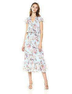 f83cd8de15 Shoshanna Women s Analise Short Sleeve Shift Dress Dress Outfits