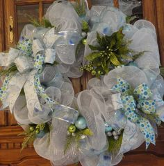 Winter Holiday Christmas Wreath. Sale! Now 20% off with coupon code MerryChristmas2012.
