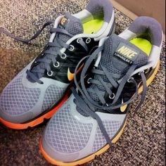 love new running shoes. Nike LunarGlide+ 2.