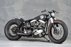1969 FLH HMS Street bobber Harley Bobber, Bobber Motorcycle, Bobber Chopper, Davidson Bike, Harley Davidson Sportster, Custom Harleys, Custom Motorcycles, Old School Motorcycles, Custom Bikes