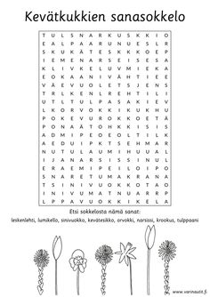 Kevät - Värinautit Abc For Kids, Crafts For Kids, Finnish Language, Happy Together, Worksheets, Classroom, Teacher, Bratislava, Education