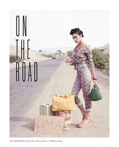 On the road - Revista J #Fashion #JockeyPlaza #Vintage #Magazine #Lima #Photography #Trendy