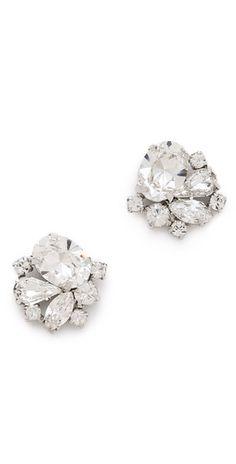 Jenny Packham Tesoro Earrings I | SHOPBOP
