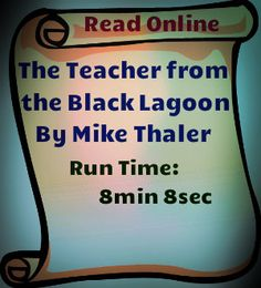 """The Teacher from the Black Lagoon is a highly popular title from the best selling """"Black Lagoon Series"""" by Mike Thaler. Meet Hubie, who is nervous and fearful on the first day of school. His exaggerated fears about his new teacher cause him to imagine dreadful scenarios that will keep young readers on the edge!"""