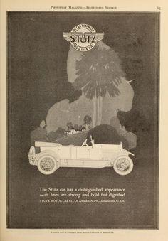Stutz car 1921
