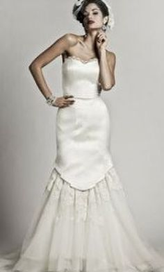 Matthew Christopher: buy this dress for a fraction of the salon price on PreOwnedWeddingDresses.com