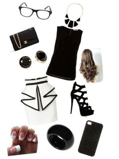 Classy business woman! ❤ Created on polyvore