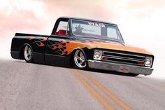 Flamed C10