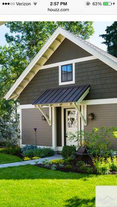 Best 13 Best Garage Door Portico Images Door Overhang House 400 x 300
