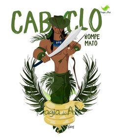 Camiseta Caboclo Rompe Mato Strong Arms, Orisha, Orthodox Icons, Magick, Pagan, Art Boards, Spirituality, Faith, Rainwater Harvesting