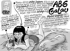 Mice Cartoon: ABG galau (Kompas, Maret 2012)