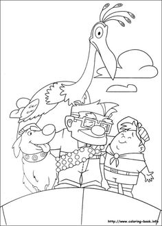 Up Coloring Pages Printable Free