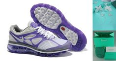 Tiffany CO Earring butterfly Womens Nike Air Max 2012 Pure Platinum/Pure Purple/Dark Grey/White Shoes