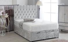 Untitled New Furniture, Furniture Design, Mattress Manufacturers, Ottoman Bed, One Bed, Sleigh Beds, Bed Mattress, Bed Frame, Bedroom
