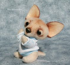 "The Puppy of Chihuahua ""Pie-Boy"" by By Alisa Shangina 