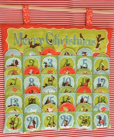 Ημερολόγια αντίστροφης μέτρησης Χριστουγέννων από το Happy Hippie! Happy Hippie, Advent Calendar, Christmas Ideas, Embroidery, Holiday Decor, Diy, Do It Yourself, Needlepoint, Bricolage