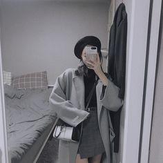 ☁️🕸Korean Fashion Grey🕸☁️ ⚡️@oliwiasierotnik⚡️