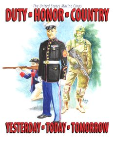 United States Marine Corps  1775-2012-2249  Duty-Honor-Country  Yesterday-Today-Tomorrow Once A Marine, Marine Life, Usmc, Marines, Marine Corps Recruiting, Trust And Loyalty, Semper Fidelis, Yesterday And Today, Proud Of Me