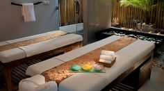 Let the professional therapists of Lataliana Villa in Seminyak, Bali in Indonesia give you and your loved one a full spa menu of Balinese massage, body scrubs, facials, manicures and pedicures. There is even a far-infrared sauna! The two of you will definitely look like two young lovebirds again.