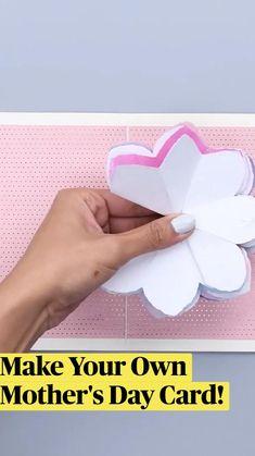 Cool Paper Crafts, Paper Crafts Origami, Diy Crafts Hacks, Diy Crafts For Gifts, Diy Home Crafts, Cute Crafts, Diy Craft Projects, Diy Paper, Oragami