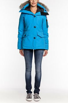 canada goose jacket kid sapphire blue
