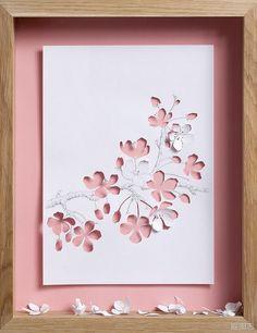 Pretty paper flowers..