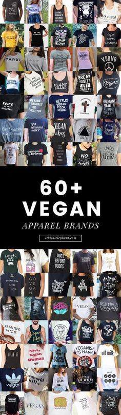 A comprehensive list of vegan apparel brands from around the world!