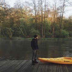 poranki. II  #vsco #kayak #kayaking #brda #borytucholskie #mornings #morning #rano #haven