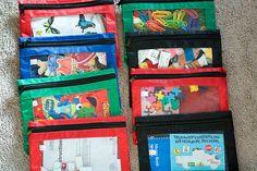 Manualidades Educativas: Edubolsas (busy bags)