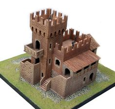 A brand new line of medieval modular scenery elements, suitable for scale war